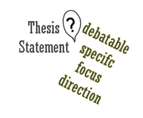 How to prove a thesis
